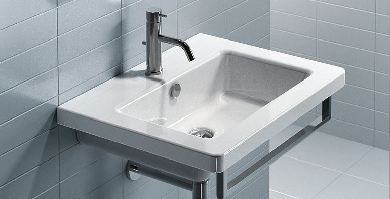 lavabo new light della ditta catalano sink new light of